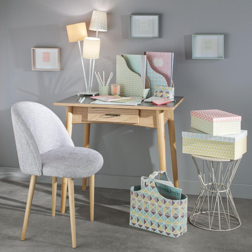 Tendance vintage pastel chez maisons du monde anything is possible - Tabouret scandinave maison du monde ...