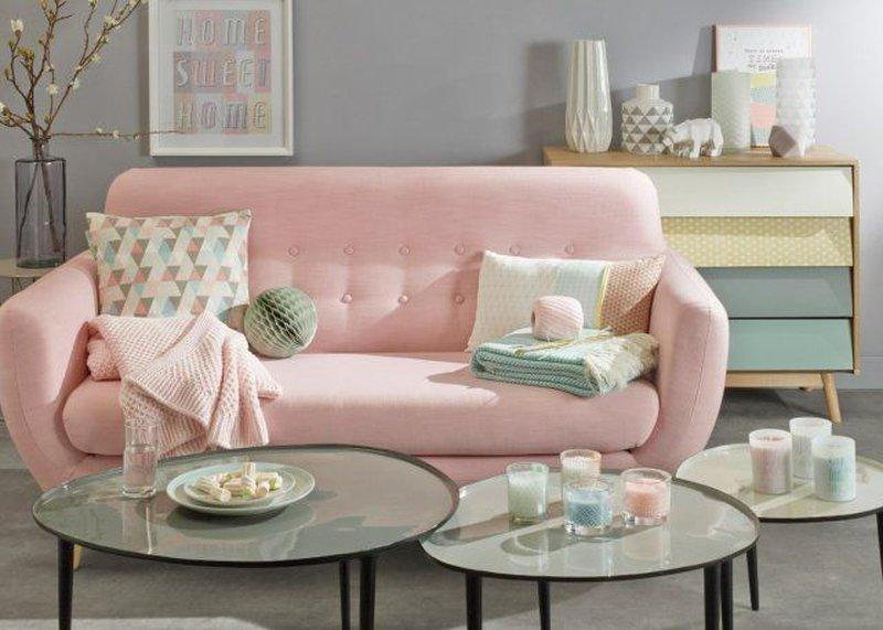 Tendance vintage pastel chez maisons du monde anything is possible
