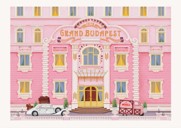 Grand Budapest Hotel Wes Anderson 2