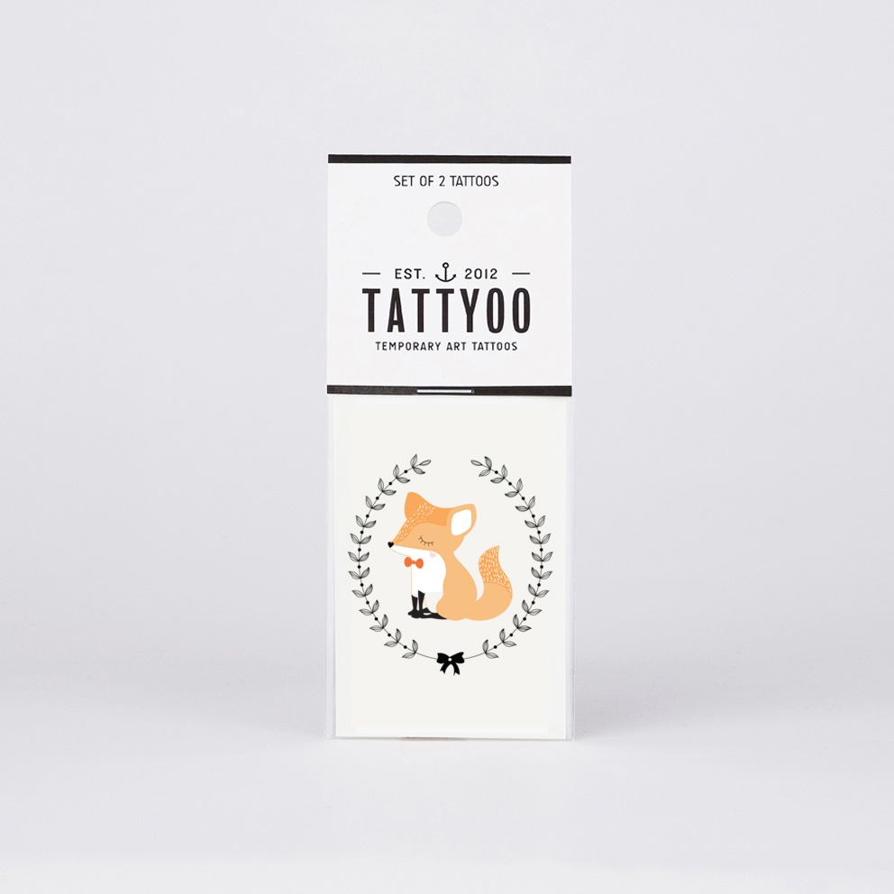 lamecaniquedubonheur tattoo renard