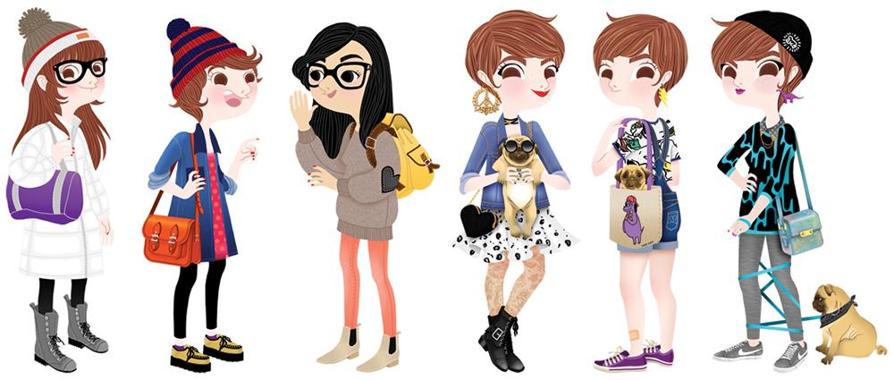 anna-lubinski-illustration-lookbooks-outfits