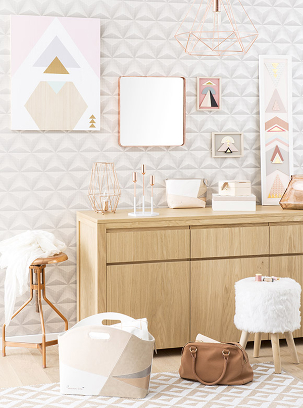 tendance graphik pastel chez maisons du monde anything is possible. Black Bedroom Furniture Sets. Home Design Ideas