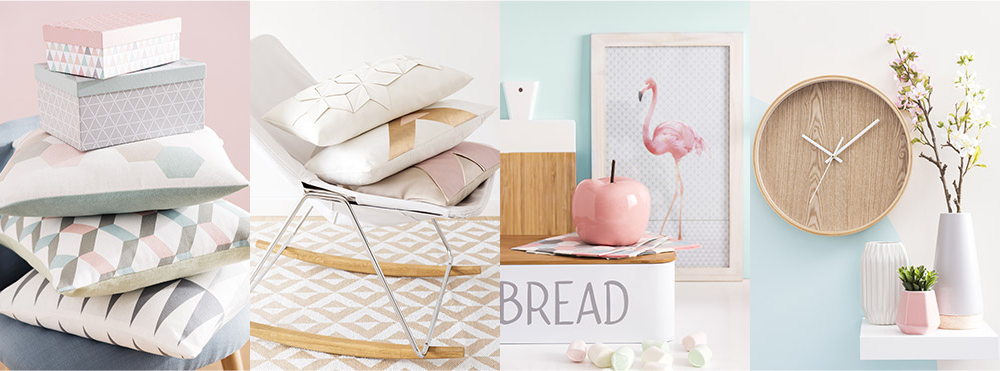 tendance graphik pastel chez maisons du monde anything. Black Bedroom Furniture Sets. Home Design Ideas