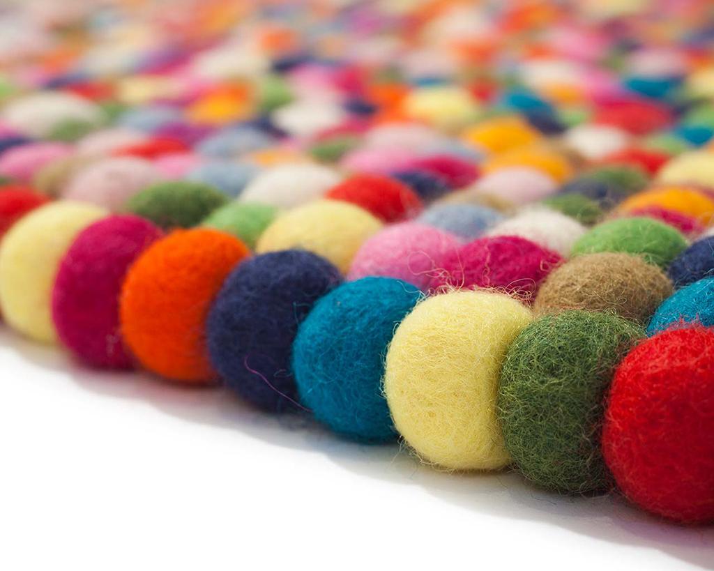 tapis alisha multicolore