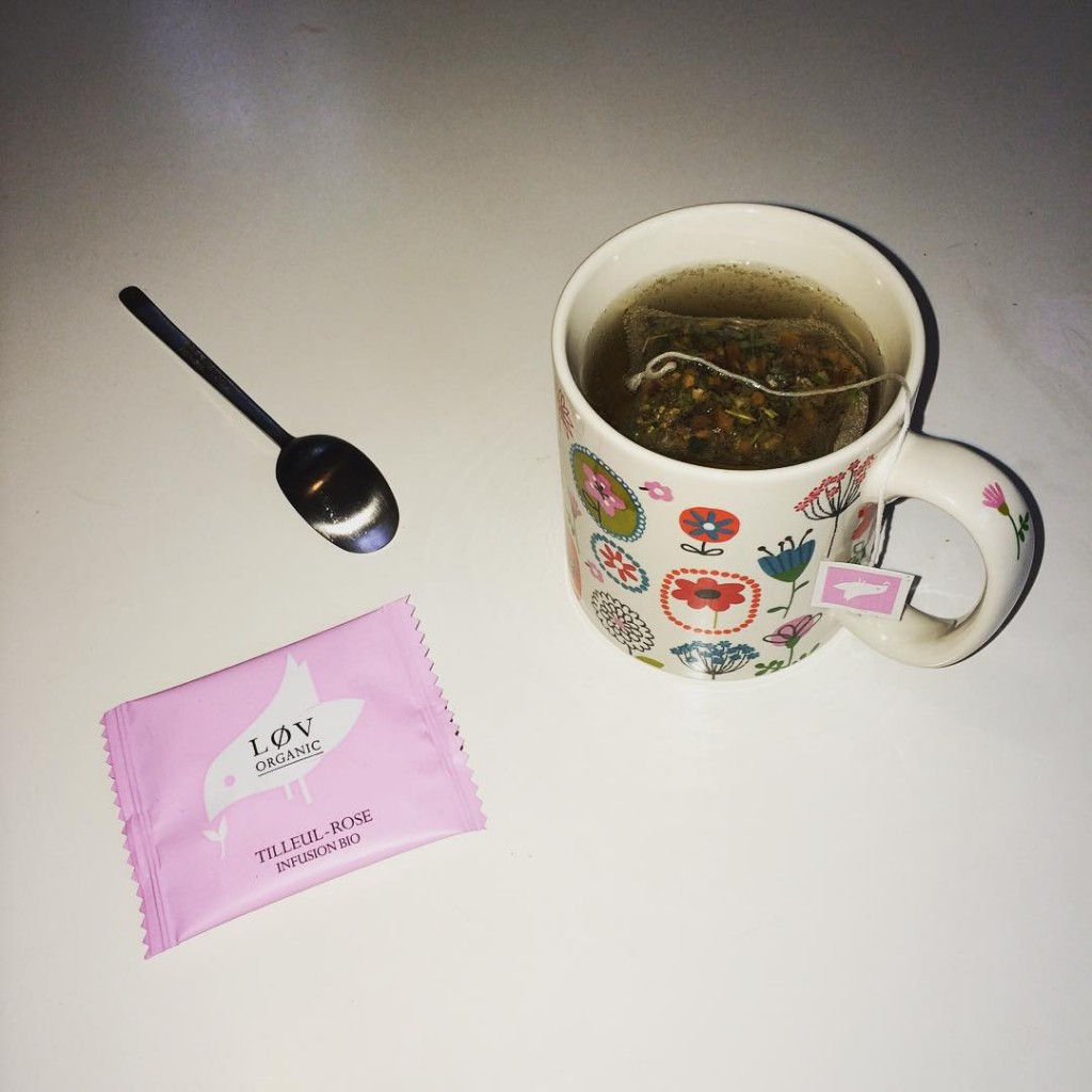 Hello ! #the #tea #lovorganic #noz #nozaddict