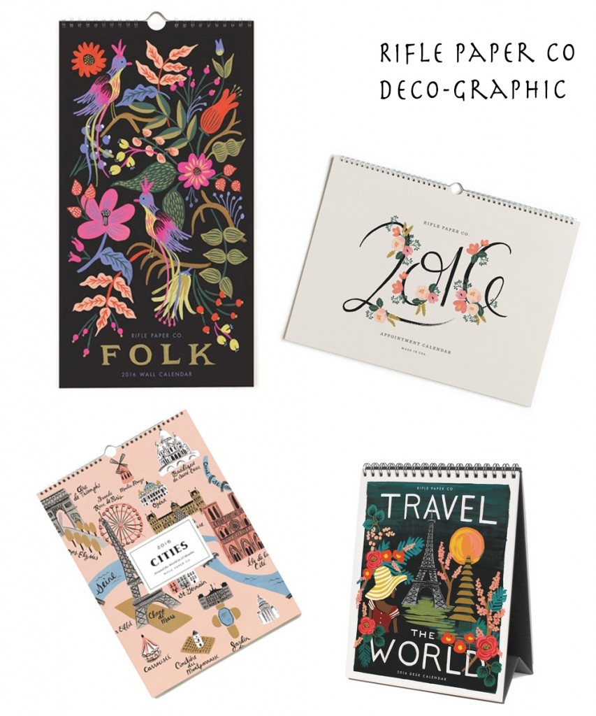 Calendriers 2016 Decographic