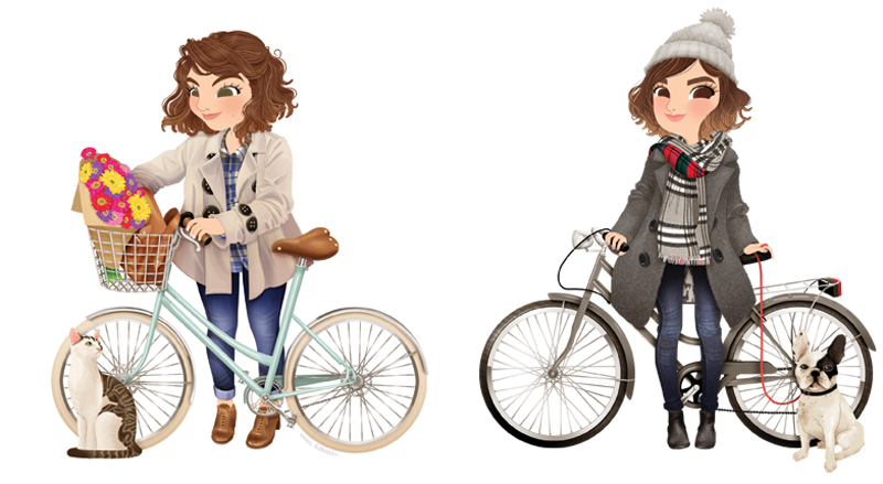 anna-lubinski-illustration-bike-lookbooks-outfits