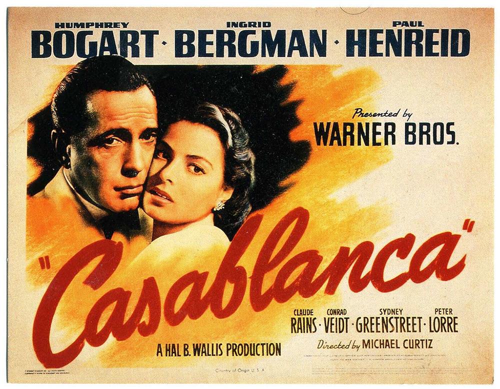 Affiche-Casablanca